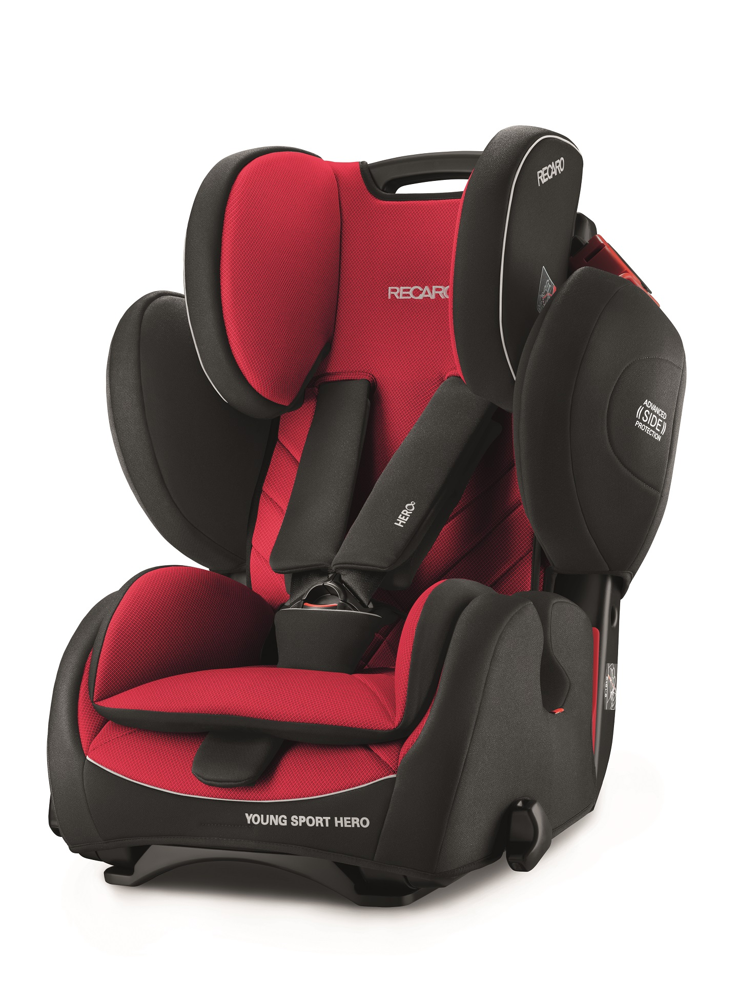 recaro child car seat young sport hero 2018 racing red buy at kidsroom car seats. Black Bedroom Furniture Sets. Home Design Ideas
