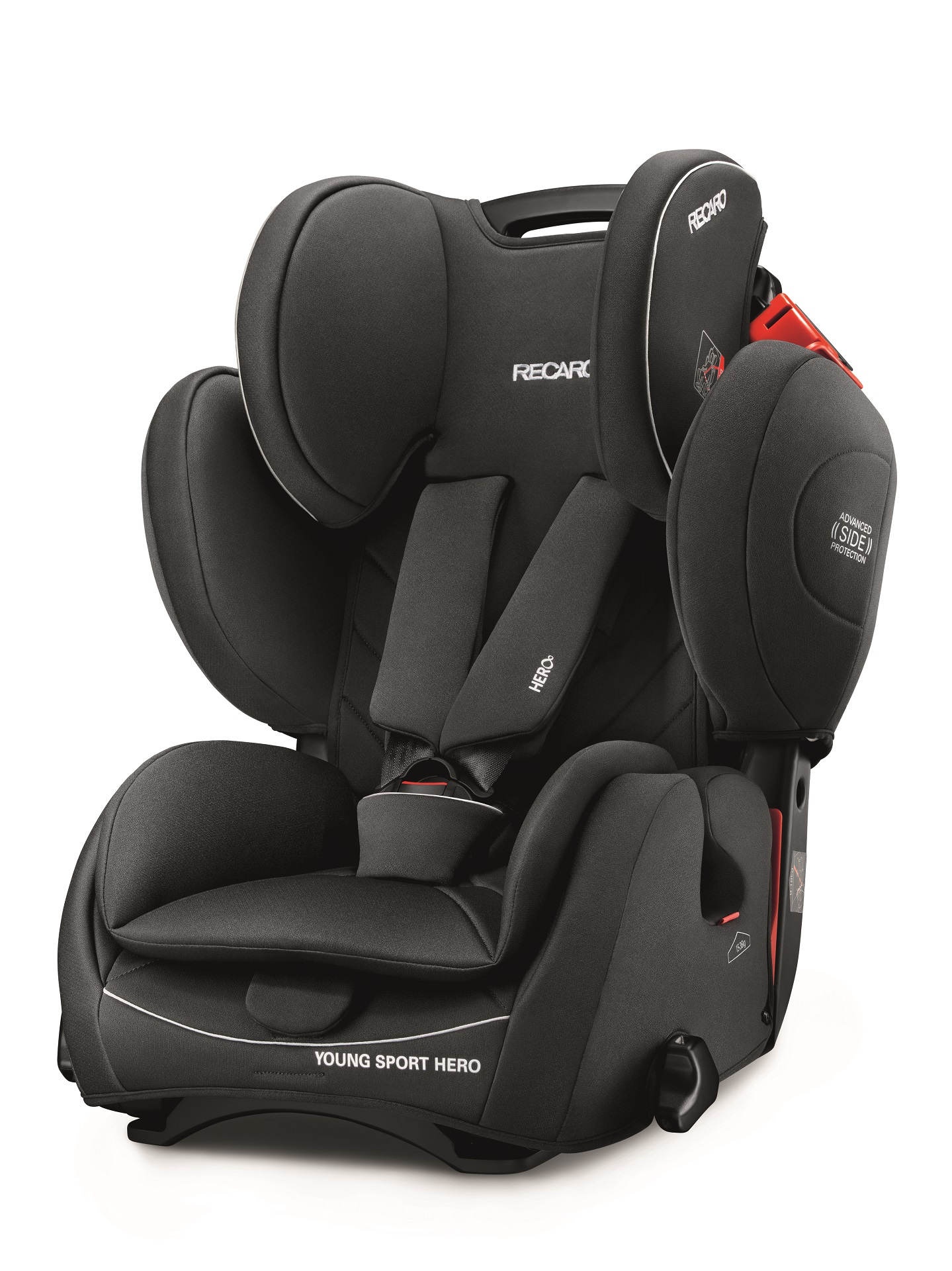 Superbe Recaro Young Sport Hero Performance Black 2018   Large Image 1 ...