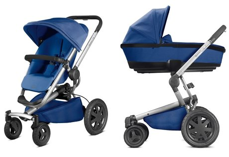 Quinny Buzzy Xtra including Dreami Carrycot Blue Base 2017 - large image