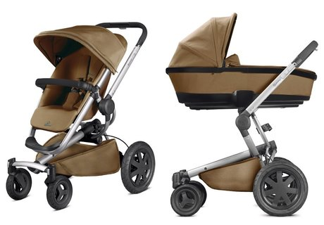 Quinny Buzzy Xtra including Dreami Carrycot Toffee Crush 2016 - large image