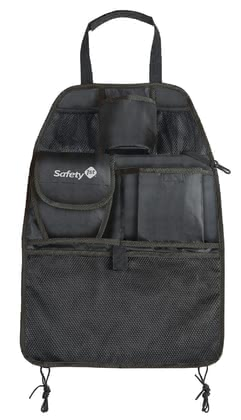 Safety 1st Backseat Organiser -  * The backseat organiser by Safety 1st can be installed easily by attaching it to either to the back of driver's seat or the passenger's front seat and protects the backs of the seat from being stained or worn off.