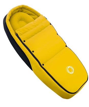 Bugaboo foot muff baby cocoon for Bee Hellgelb 2015 - large image