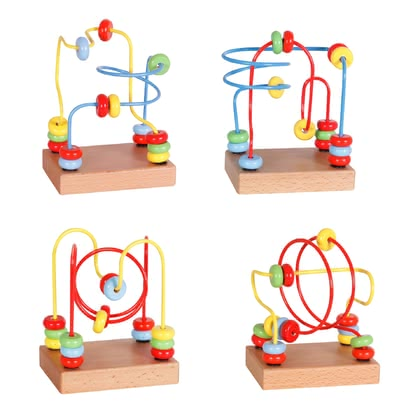 Beeboo Mini Motor Skills Training Loop - * This bow is not only colourful, but also supports your little one's fine motor skills.