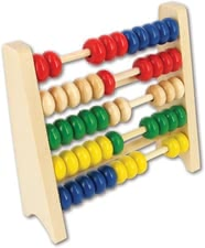 Beeboo abacus - Small Mittring get your money with the great counting frame made of sturdy and high-quality wood and master every task!