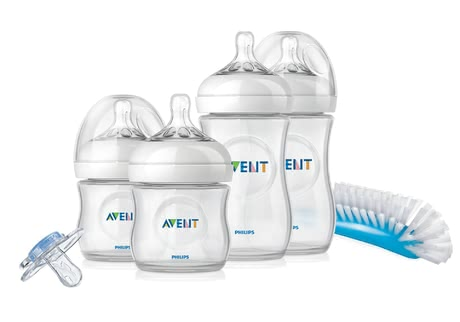 AVENT Natural Newborn Starter Set -  * This great starter set contains everything you as new parents need for providing your little one with optimum care – from baby bottles in different sizes, to teats, to soother. That way, combining breastfeeding with bottle-feeding will be successful right from the start.