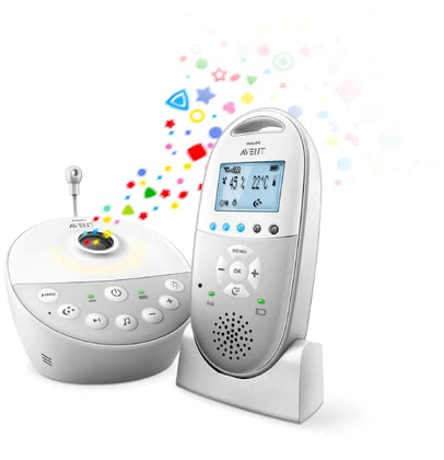 AVENT Baby Monitor DECT with Starry Sky Projector SCD585/26 -  * The stylish and chic baby monitor from Avent makes first time parents feel secure and close to their baby, even when not in the same room.