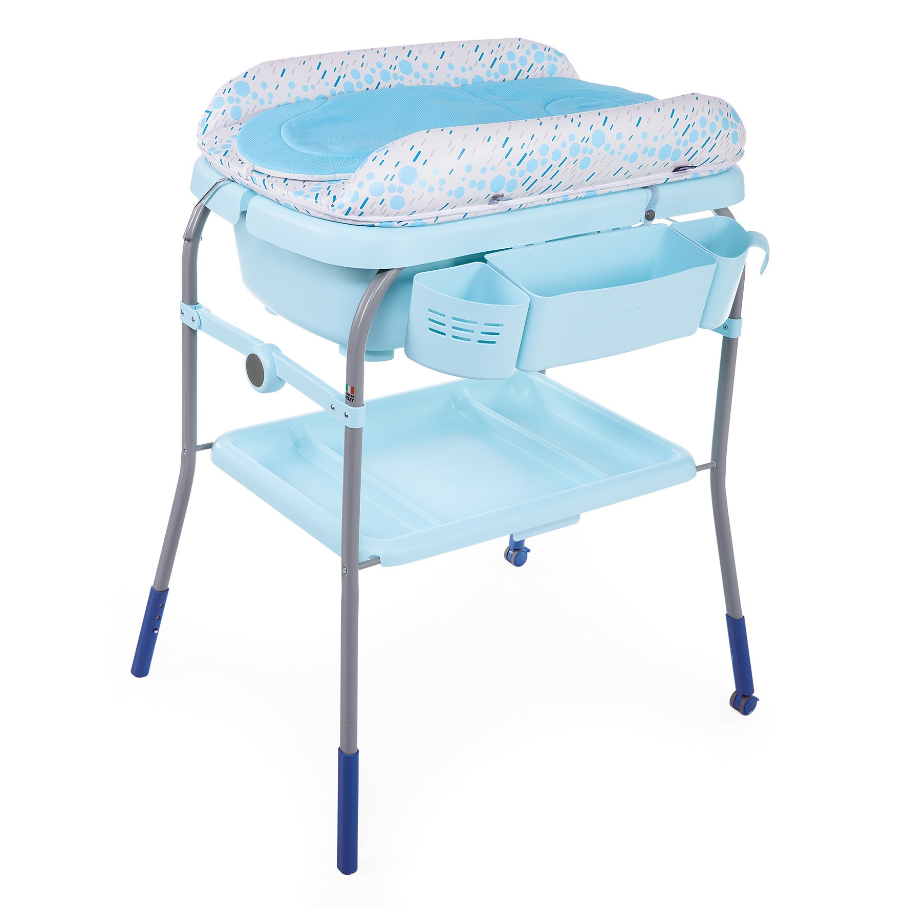 Foldable Infant Baby Home Bathroom Bath Comfort Diaper Storage Changing Table US