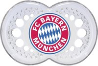 MAM Soother FC Bayern Munich -  * With this trendy fan soother your little one can show everyone which football club he likes best.