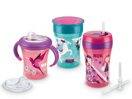 NUK Learn-to-drink Training Set Girl 2017 - large image