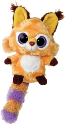 Beanie Boo Little Fox - The big Googly eyes shine with your favorite race! The cute ears, the soft patterned tail and the cute button nose invite to cuddle, cuddling and love.