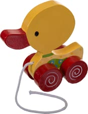 Bieco Pull-along duck - A great gift for little beginners or toddlers! The sweet duck accompanied and everywhere your little treasure.