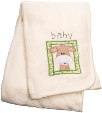 Bieco Cuddly blanket Giraffe - The soft and cuddly blanket is ideally suited as a fluffy soft blanket to snuggle up on the sofa or in the stroller.