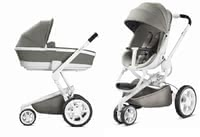 Quinny Moodd including Dreami Carrycot -  * The Quinny Moodd Pushchair combines comfort and flexibility. It slender chassis does not only feature a trendy design, but is also suitable for being used as a travel system.