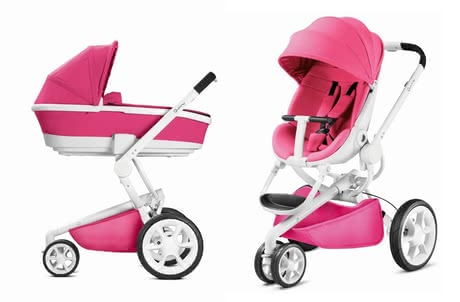 Quinny Moodd including Dreami Carrycot Pink Passion 2018 - large image