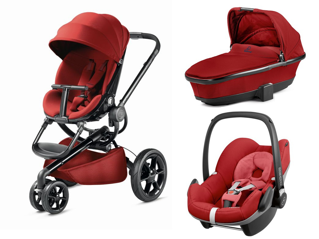 quinny moodd including dreami carrycot and maxi cosi infant car seat pebble 2017 red rumour. Black Bedroom Furniture Sets. Home Design Ideas