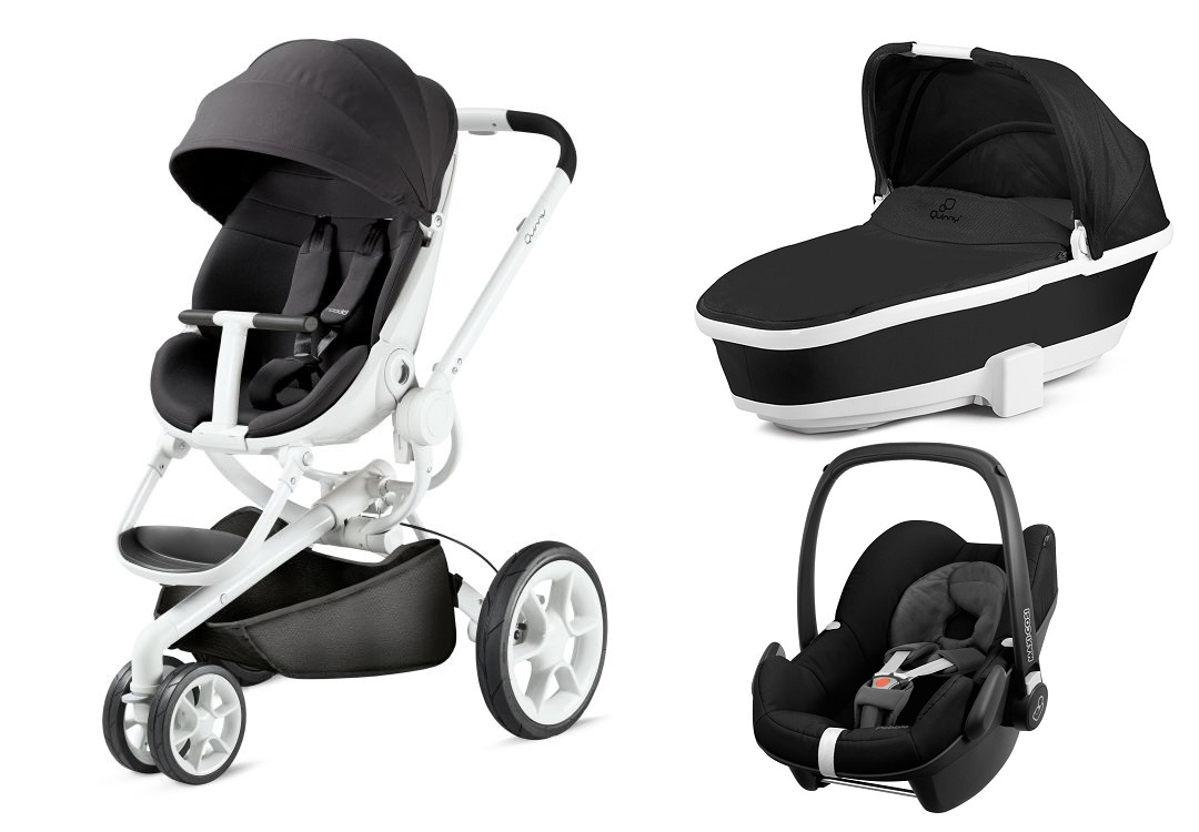 Quinny moodd including dreami carrycot and maxi cosi for Housse quinny moodd