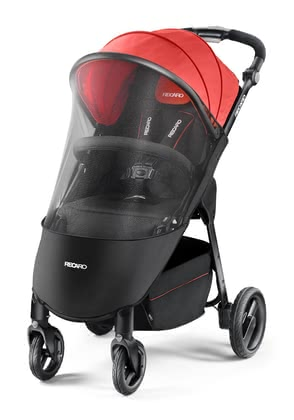 Recaro Mosquito Net for Pushchair Citylife -  * The sport stroller Citylife can easily and quickly be covered with the mosquito net and protects your child against annoying insects