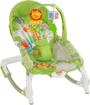 Fisher-Price 2-in-1 compact swing & seat 2016 - large image