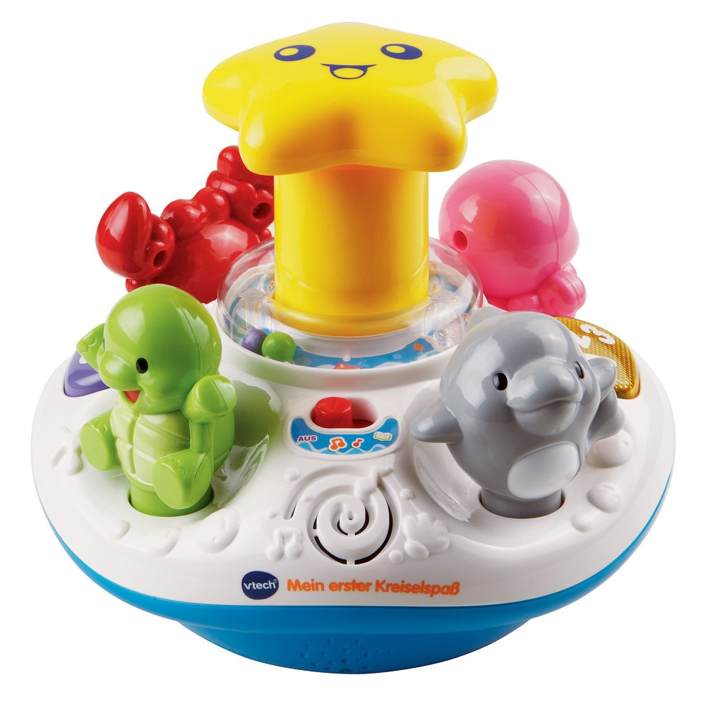 Top Vtech Toys : Vtech my first spinning top buy at kidsroom toys