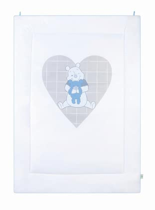 Zöllner Disney play mat Pooh My Little Sweetheart, blue 2015 - large image