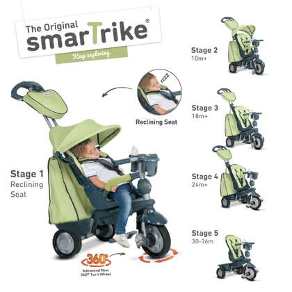 SmarTrike Tricycle Explorer Grün - large image