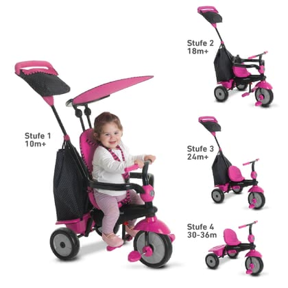 SmarTrike Tricycle Glow -  * Let's discover the world! The smarTrike tricycle Glow has been designed for children at the age of ten months and up and will bring utmost comfort and ultimate driving fun into your little one's day.