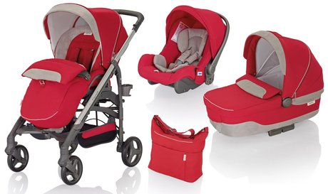 Inglesina Trilogy City System Quattro Luna Red 2015 - large image