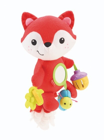 Fisher price little fox 2016 buy at kidsroom toys for Chaise 4 en 1 fisher price