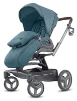 Inglesina Pushchair Quad -  * The Inglesina Pushchair Quad combines innovative design, resilience and ease. This premium pushchair definitely adds some oomph to your performance. The elaborate design ensures both perfect road holding and high manoeuvrability.