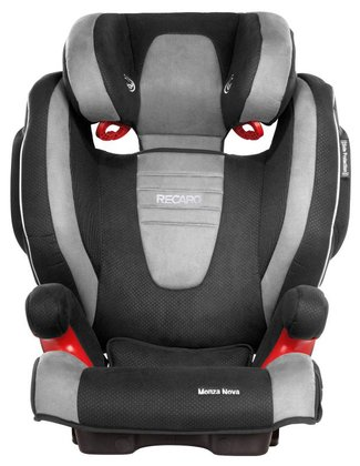 Recaro child car seat Monza Nova 2 Seatfix including Recaro summer cover Graphite 2016 - large image