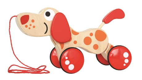 Hape toy for pulling up Puppy 2017 - large image