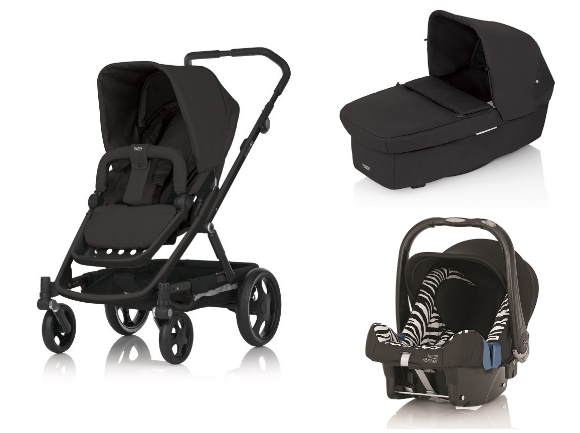 britax go stroller incl carrycot and r mer infant carrier. Black Bedroom Furniture Sets. Home Design Ideas