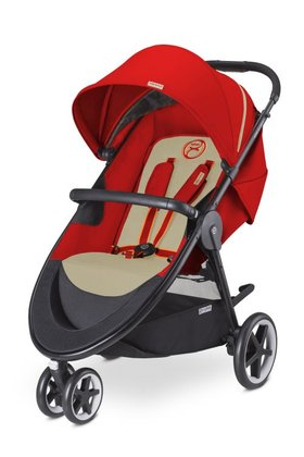 Cybex Stroller Agis M-Air 3 Autumn Gold - burnt red 2016 - large image