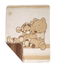 Zöllner Jacquard Blanket Pooh & Tigger - * Zöllner Jacquard blanket - both a fantastic design and quality - Made in Germany