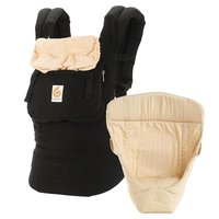 "Ergobaby Baby Carrier Original – From Birth Bundle - * The Ergobaby original ""from birth on"" package enables you to carry your child ergonomically in three different positions."