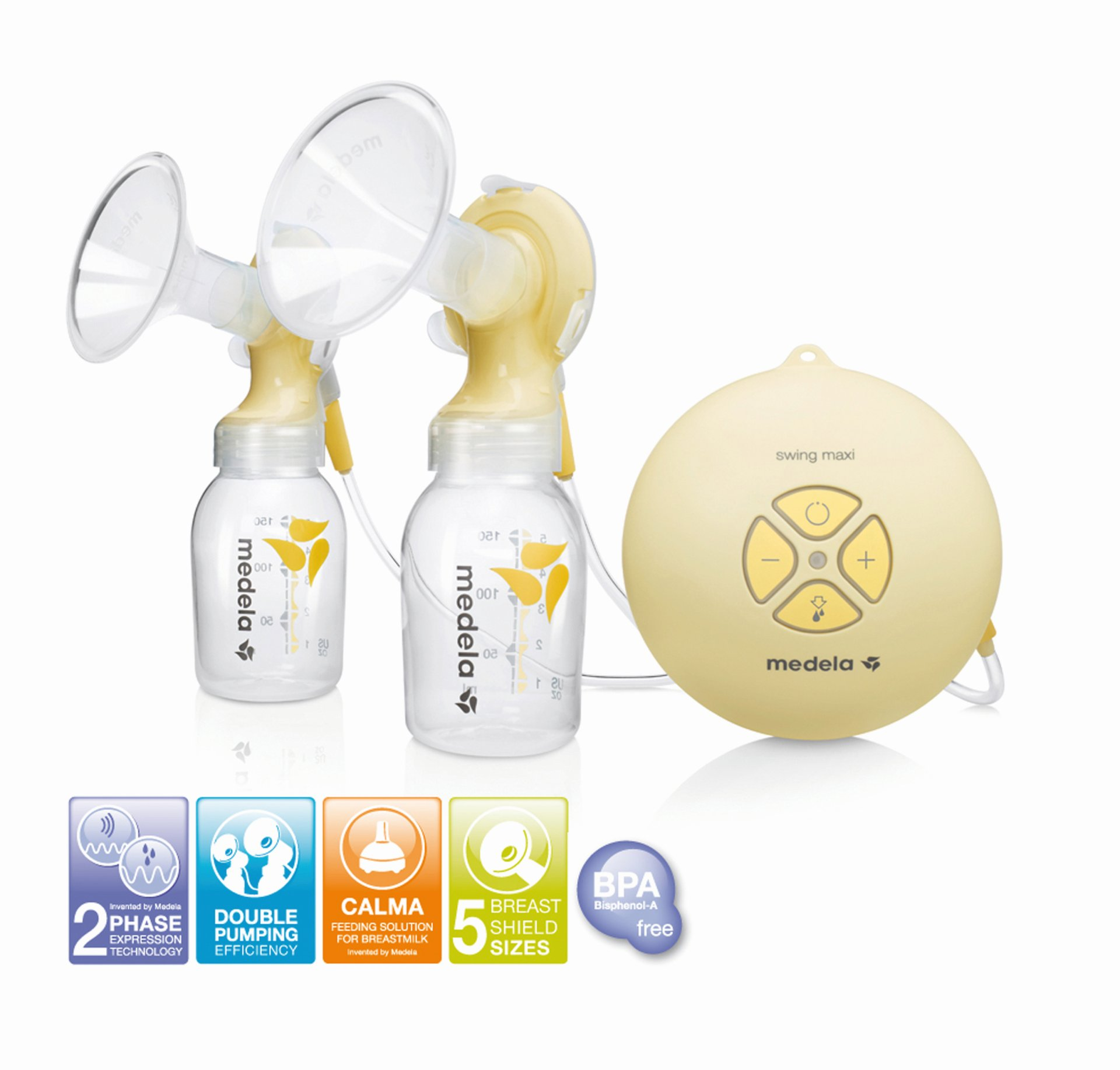 Medela Double Electric Breast Pump Swing Maxi Buy At Kidsroom