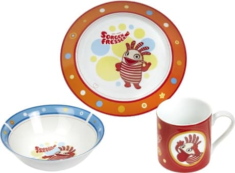 Worry eater breakfast set with 3 pieces 2016 - large image