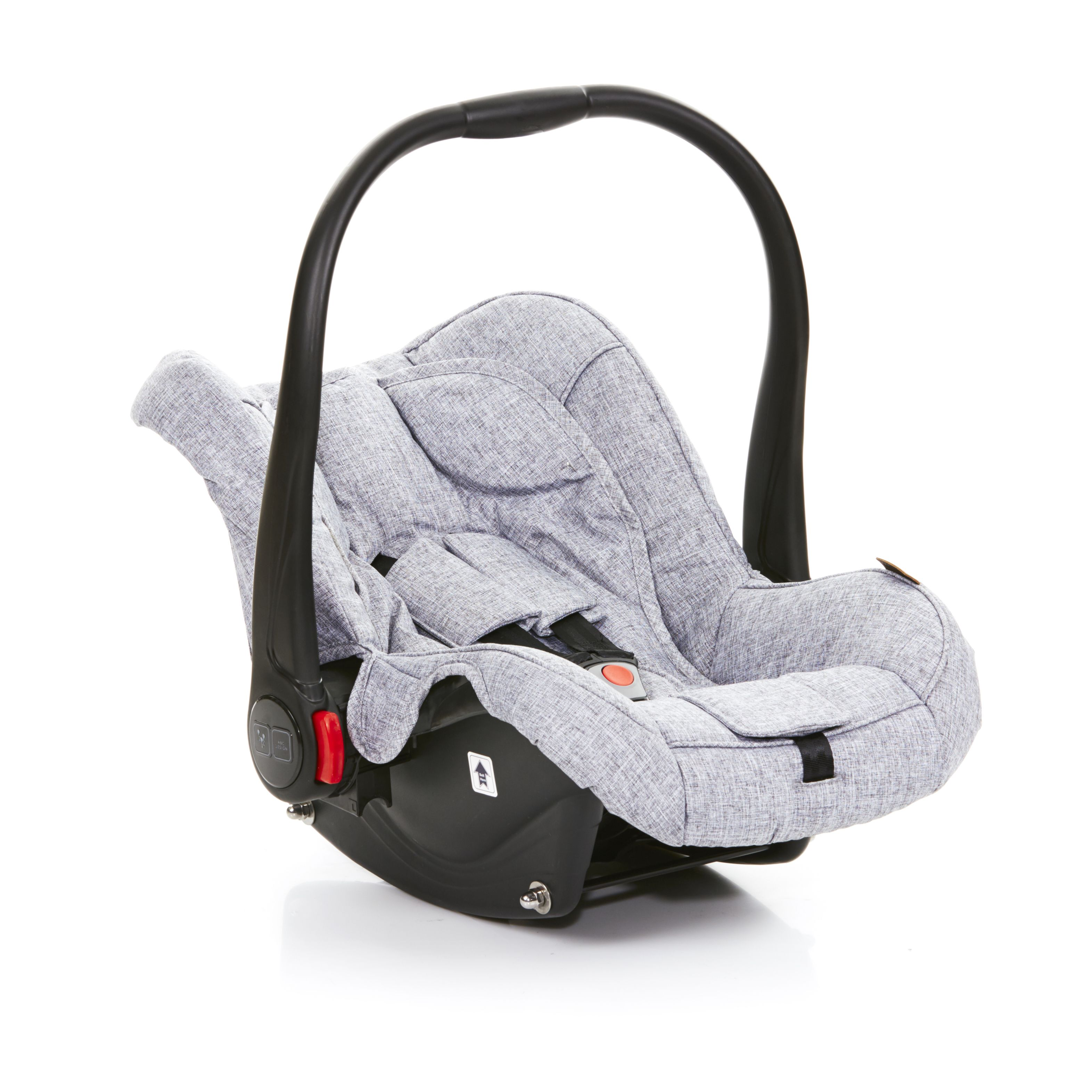 abc design infant car seat hazel 2018 graphite grey buy at kidsroom car seats. Black Bedroom Furniture Sets. Home Design Ideas
