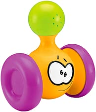 wiggle roller - * The colourful wiggle roller by Bieco wiggles back and forth and has an integrated rattle.