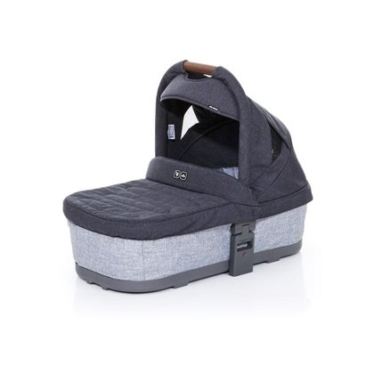 ABC-Design Carrycot for Cobra PLUS and Mamba PLUS - Graphite Grey -  * The ABC-Design carrycot, which is suitable for children right from birth, is the perfect place for your little one to cuddle up and rest comfortably. Due to the flat recline position that provided maximum comfort while traveling, you can easy go on longer strolls.