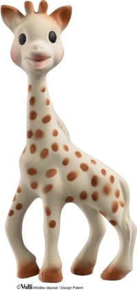 Clutching Toy Sophie la Girafe - * Sophie la girafe awakens all senses of your little one - made of 100% natural rubber.
