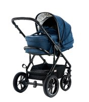 Moon Multi-Functional Pram Lusso including Carrycot -  * Moon's multi-functional pram Lusso combines highest comfort, trendy design and long term use.