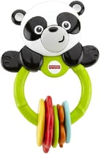 Fisher-Price Panda Clacker Ringe - The Klick-Klack panda by Fisher Price is the ideal companion with ist five coloured ticktack toys. It does not matter whether you are at home or en route.