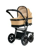Moon Multi-Functional Stroller Tregg with Aluminium Carrycot - * The stroller Tregg by Moon will convince you with its extraordinary design and maximum of comfort.