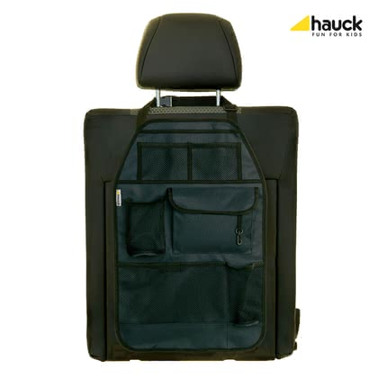 "Hauck Seat Back Protector ""Cover Me Deluxe"" -  * The premium seat back protector ""Cover Me Deluxe"" prevents the back of the front seat in your car from being stained while providing useful place to store necessities and niceties at the same time."