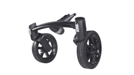 Quinny Moodd 4-Wheel Front Axle -  * The Quinny Moodd 4 wheel unit transforms your 3-wheel Quinny Moodd into a 4-wheel stroller.