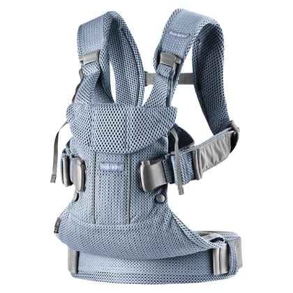 Baby Björn Baby Carrier One Air - * The baby carrier One Air by Baby Björn can be used in four different ways fixing it either the front or back of your body. Easy in handling.