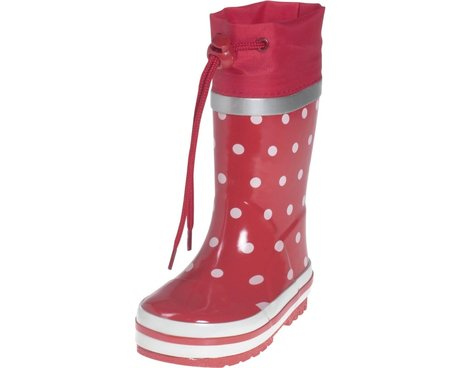 Playshoes Gummistiefel, Punkte rot 2016 - large image