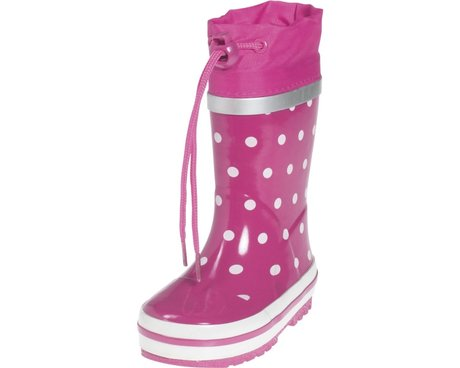 Playshoes Gummistiefel, Punkte pink 2016 - large image