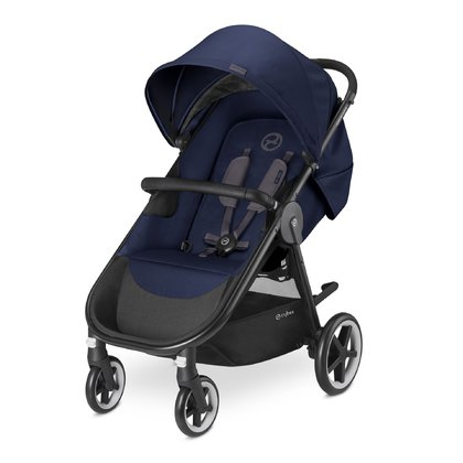 Cybex Kinderwagen Agis M-Air 4 Midnight Blue - blue 2017 - large image